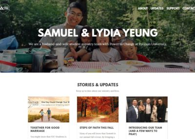 Sam & Lydia Yeung